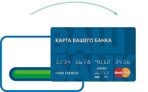 Займ на именную банковскую карту